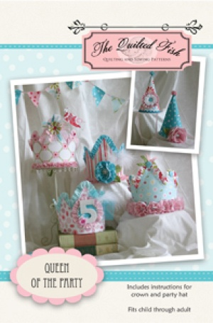 Download Queen of the Party Sewing Pattern | Hair Accessories Downloadable Sewing Patterns | YouCanMakeThis.com