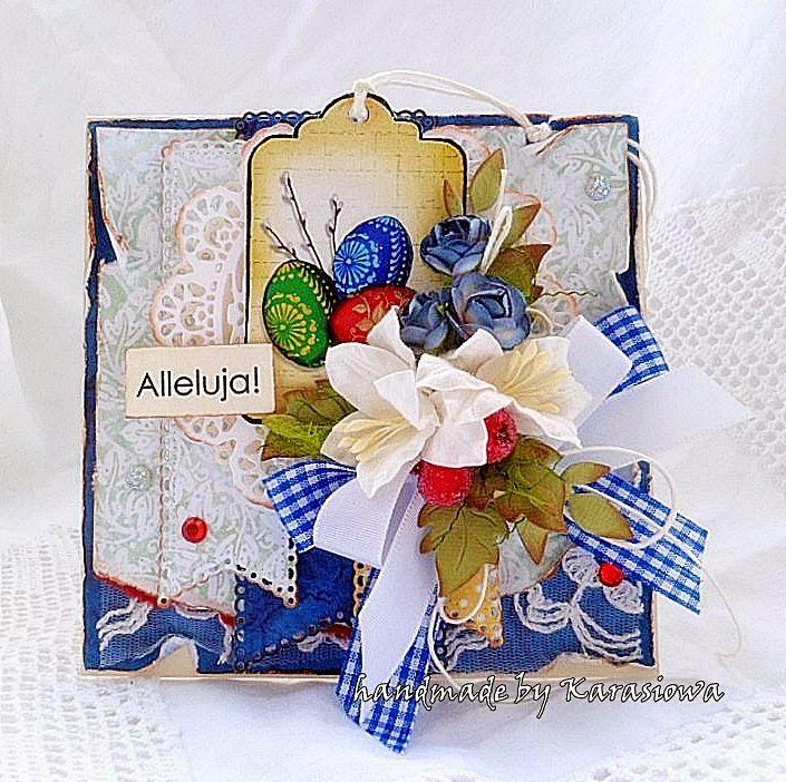 Handmade by Karasiowa: Tagowych kartek ciąg dalszy- DT Altair Art