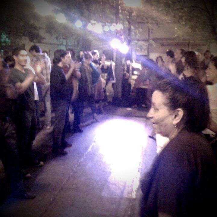 Tango in Plaza Dorrego with the locals Photo cred:  Sofia from Bucaramanga, 2010