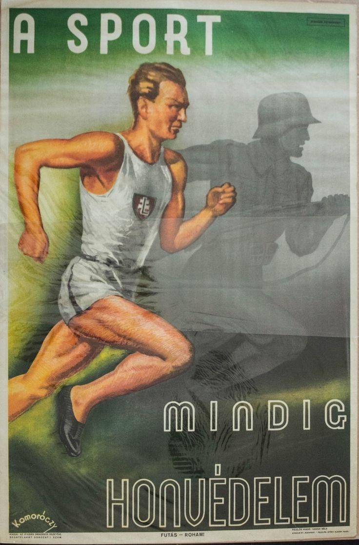 Komoróczy, A sport mindig honvédelem, 1942