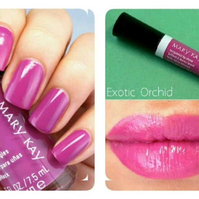 Exotic Orchid The Paradise Calling by Mary Kay... only this spring.  AV