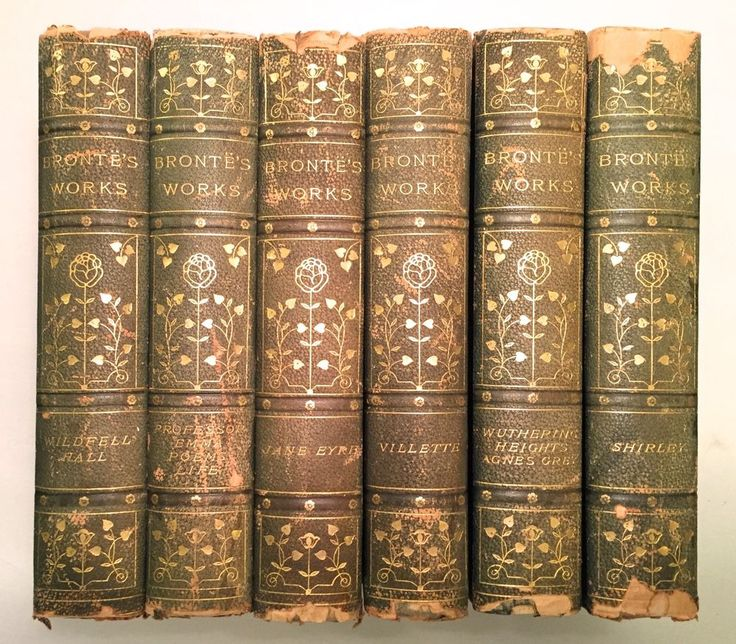 The Complete Works of Charlotte Bronte and Her Sisters 6 Volumes Illust Leather | eBay