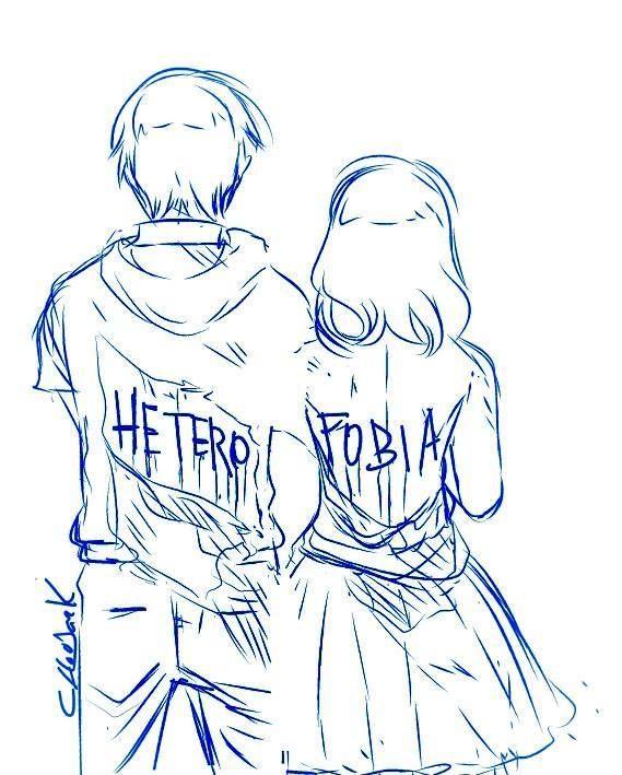Heterofobia La homofobia y la bifobia es la discriminación por orientación sexual. La heterofobia es al igual que las anteriores, discriminación por esa orientación sexual..