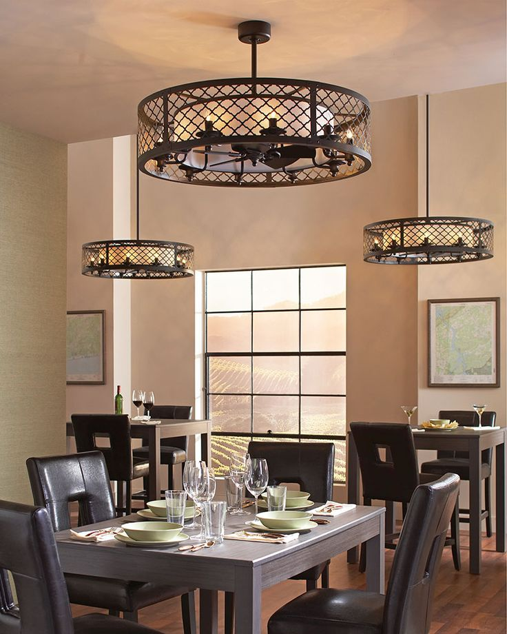 Kitchen Ceiling Fan: Brighton Court Collection. The