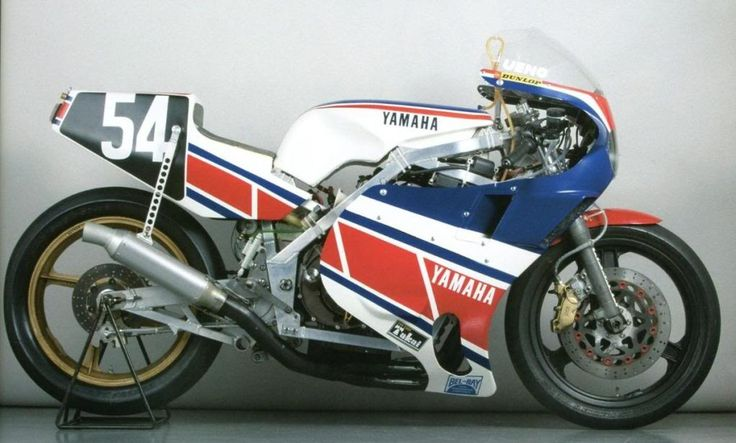 Yamaha OW74 endurance racer 1980