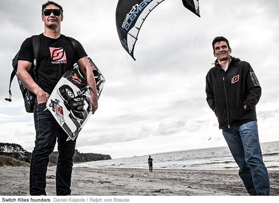 Daniel Kajavala and Ralph von Brause - Founders of SwitchKites and dedicated water sports enthusiasts. #kiteboarding #switchkites