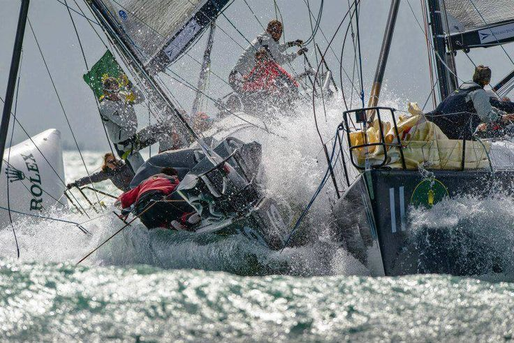 Yacht Racing for Dummies - What Happened Next - Part 1 Two duelling yachts - Windward Leeward fight out as they 'round the mark'. Okay, let me start by sayin...