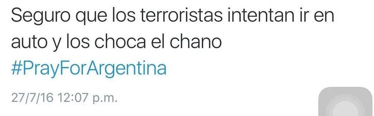 (881) Etiqueta #prayforargentina en Twitter