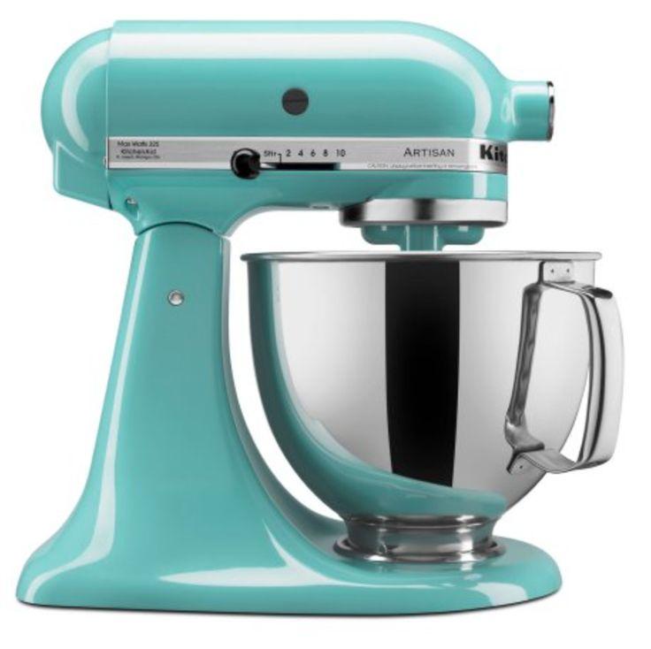 KitchenAid Artisan Series 5 Quart Tilt-Head Stand Mixer, Aqua Sky stand mixer, stand mixer, stand mixer deals, stand mixer on sale, teal stand mixer
