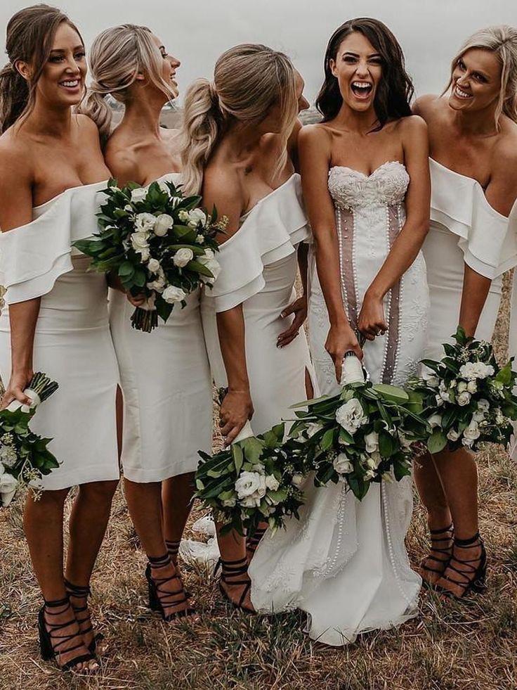 Sexy Bridesmaid Dresses Alinebridal