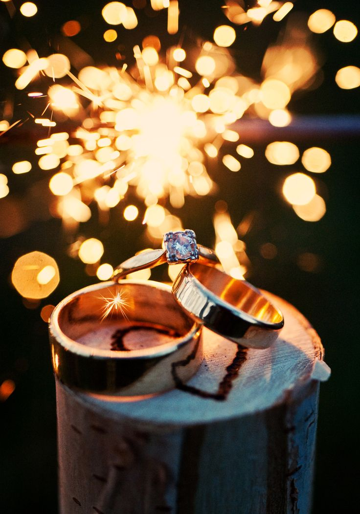 Wedding Photography | Ring | Night | Sparklers