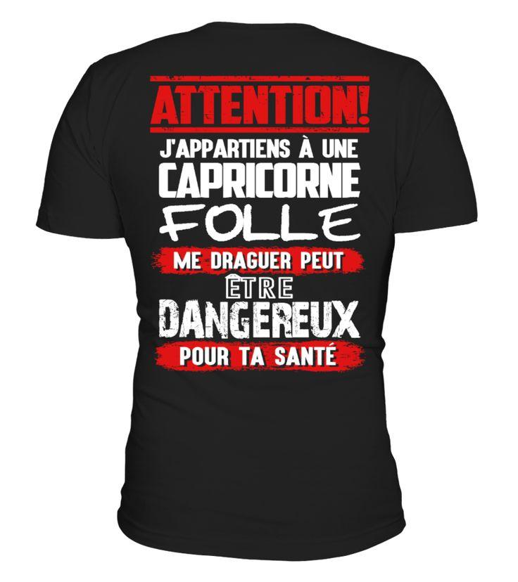 CAPRICORNE FOLLE - J'APPARTIENS À UNE CAPRICORNE FOLLE