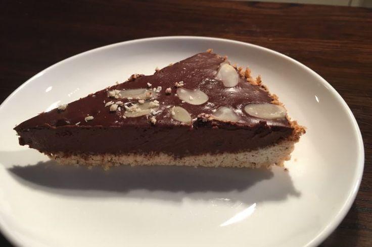 Kokosovo-čokoládový dort