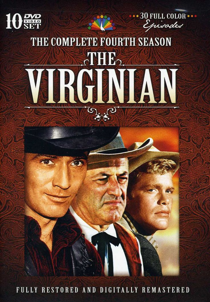 NBC's long-running series THE VIRGINIAN checks in as noteworthy for many reasons, not the least of which is its status as the first 90-minute western in U.S. television history. It also retains histor