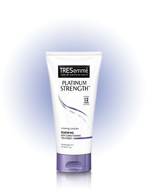 Hair Strengthening Treatment | Platinum Strength Renewing Deep Conditioning | TRESemmé
