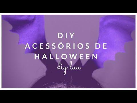 DIY  Acessórios de Halloween | diyluu - YouTube