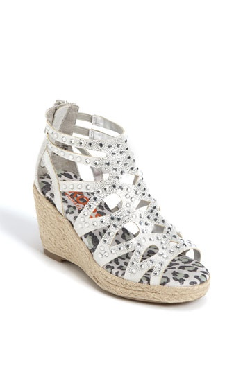 KORS Michael Kors 'Keely' Wedge Sandal (Little Kid & Big Kid) | Nordstrom