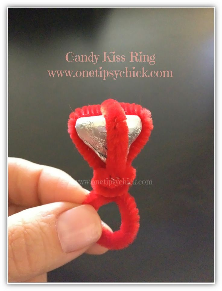 Great Valentine Idea! Candy Ring Tutorial