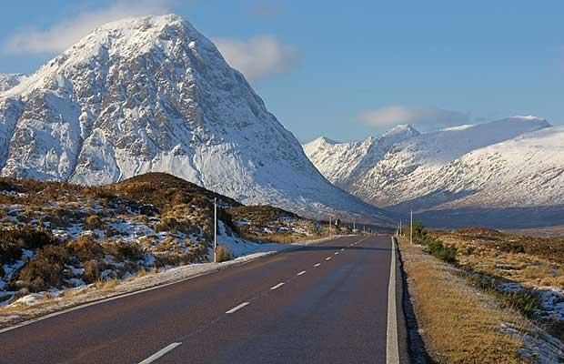 The A82 through Glencoe, it doesn't get a lot better than this. Marks the point at which I start to relax on my Scottish holidays.
