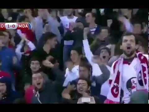 Gürcistan - Moldova 1-1 Özet ve Goller 12 Kasım 2016 Dünya Kupası Eleme ...