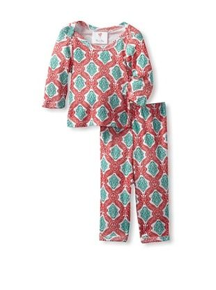 88% OFF Mad Sky Baby Holiday Long Sleeve Tee and Legging Set (Candy Canes)