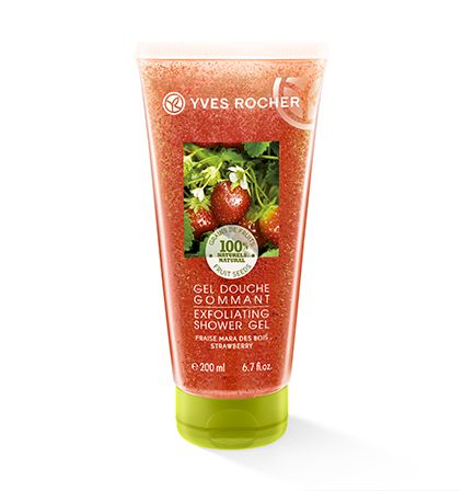 Yves Rocher Les Plaisirs Nature Strawberry Exfoliating Shower Gel 200ml (€3,95)