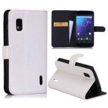 Funda Nexus 4 - Flip con Stand - Blanco  AR$ 75,18