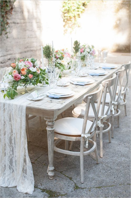 Amazing garden wedding in Monterey, just look at that tablescape! | Captured By: Rahel Menig Photography