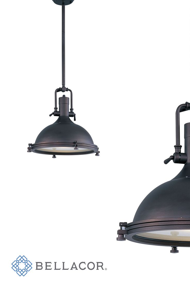 Inspired by industrial lighting, the Hi-Bay collection's refined designs maintain the boldness of their predecessors but possess refined details throughout.
