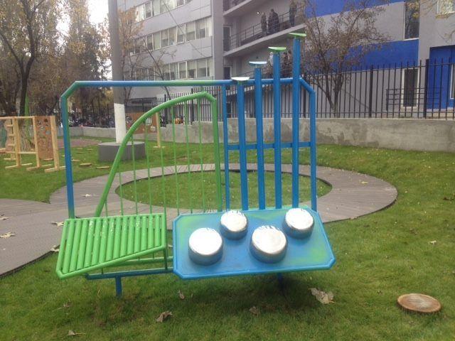 IKEDOO institute playground for IBOO kindergarten - the music installation