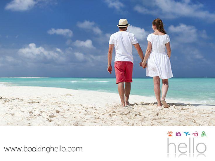 VIAJES DE LUNA DE MIEL. No hay mejor forma de celebrar tu luna de miel que disfrutando de la naturaleza, escuchando el canto de las aves, el oleaje del mar y sintiendo su brisa fresca. En Booking Hello, ponemos a tu disposición los mejores packs all inclusive al Caribe con estancia 5 estrellas que harán de tu viaje, una experiencia inolvidable. Te invitamos a visitar nuestro sitio en internet www.bookinghello.com, para obtener más información. #lunademielconhello