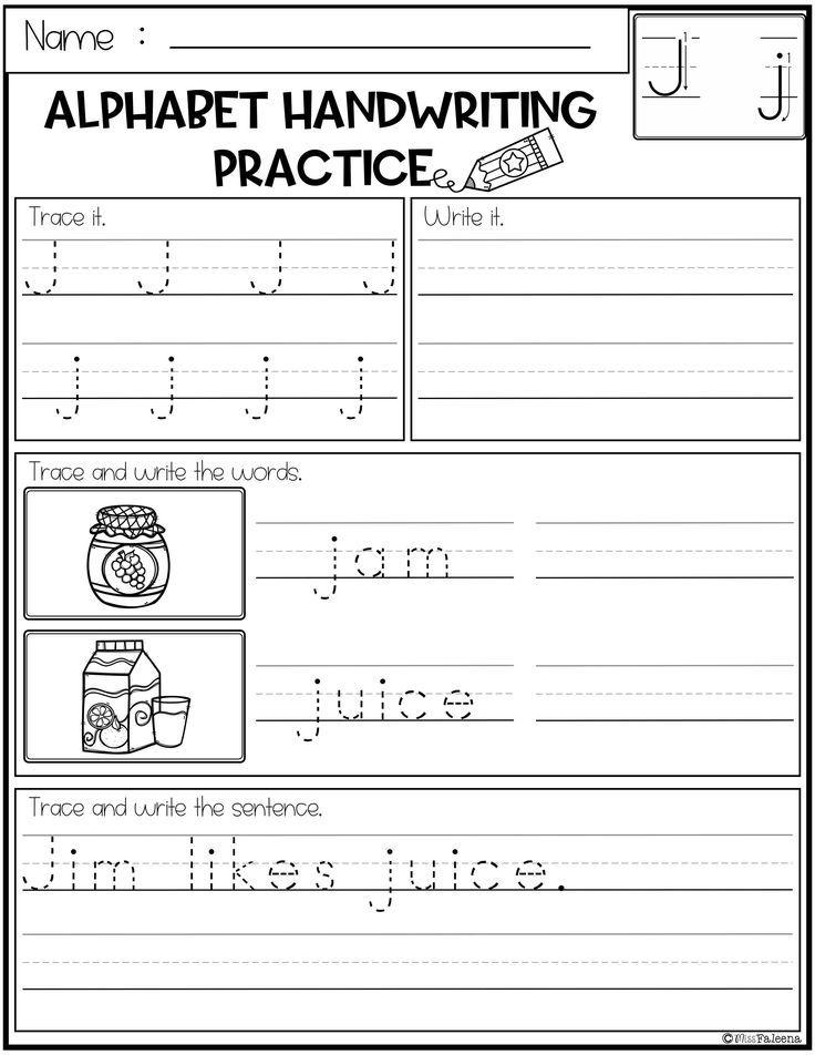 Free Alphabet Letters Handwriting Practice Handwriting Practice Handwriting Worksheets Lettering Alphabet First grade free handwriting worksheets