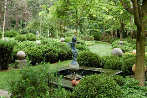 Un jardin anglais .... - Prenons le temps