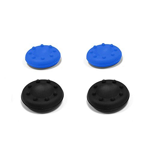 BORNPLAY Thumb Grips : Contrôleur Thumbstick Couvertures pour PlayStation 4 ( PS4 ) , Xbox One , Playstation 3 ( PS3 ) et Xbox 360…