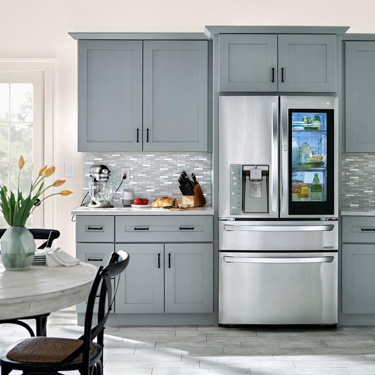Home Decorators Collection Tremont Assembled 30 X 34 5 X 24 In Plywood Shaker Base Kitchen Cabinet Soft Close Doors Drawers In Painted Pearl Gray B30 Tpg The Home Decor Kitchen Kitchen Cabinet Remodel