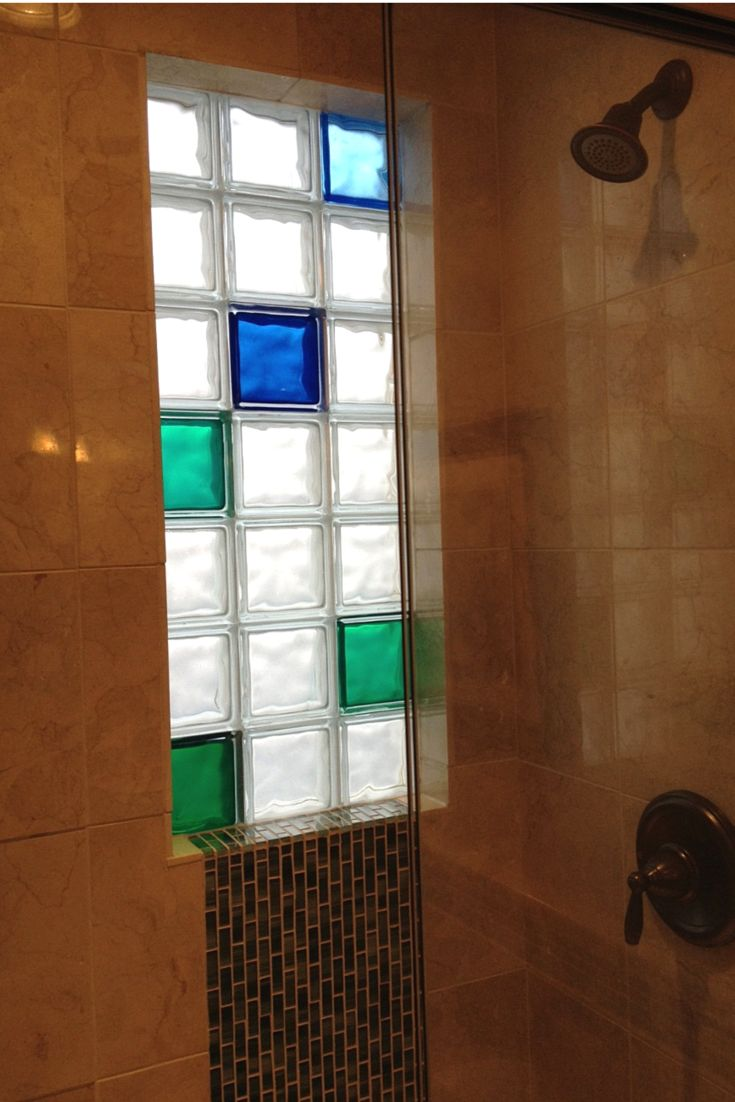 129 best images about glass block windows on pinterest - How to install a bathroom window ...