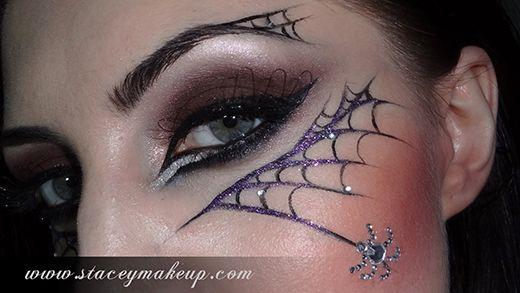 Œil toile araignée