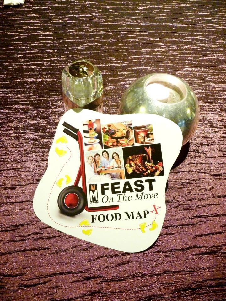 Feast on the move 2013. Food directory that shows you your next food destination. Www.facebook.com/mhotelsingapore
