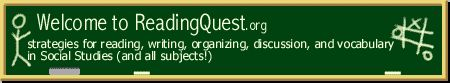 ReadingQuest | Reading Strategies for Social Studies -integrating literacy with S.S.