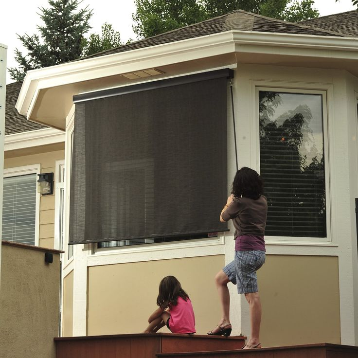 10 Best Images About Exterior Shades On Pinterest Window Sun Shades Window Treatments And Solar