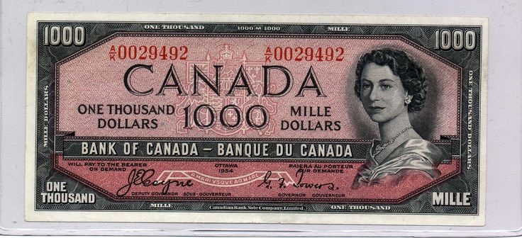 canadian currency | Why Canadian Currency Has French and English
