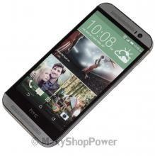 CELLULARE DUMMY FINTO DA ESPOSIZIONE NEGOZIO HTC ONE M8 METALLO SILVER GREY