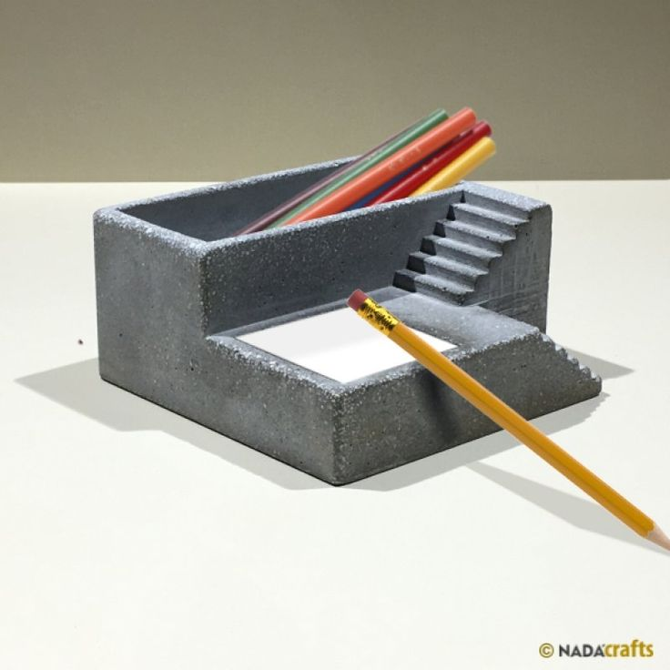 Alkimedon Kalemlik - Notluk, NadaCrafts.com | Concrete Ürünler
