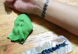 Create Your Own Temporary Tattoo - wikiHow