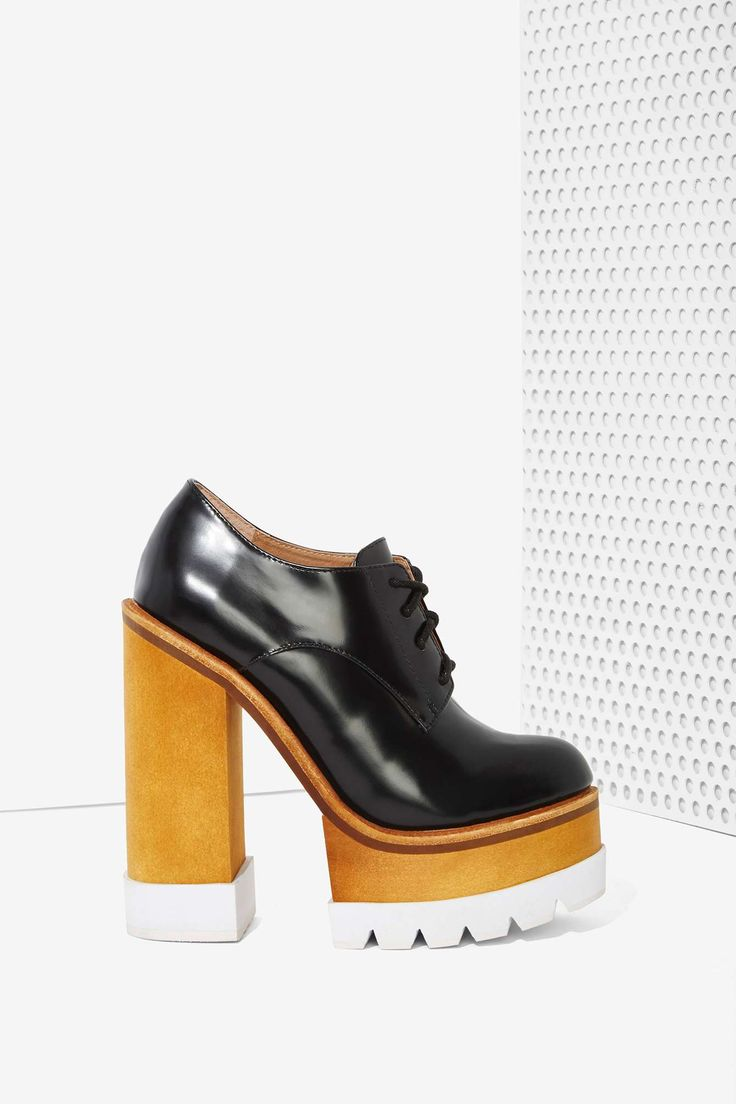 Jeffrey Campbell Killacky Leather Platform Booties | Nasty Gal #streetstyle #shoes