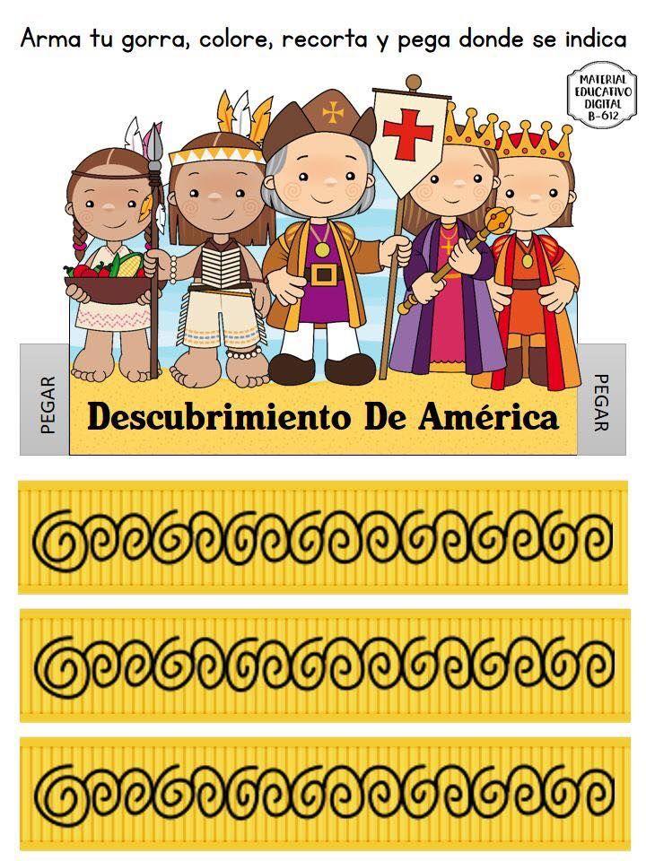 Espectacular Material Interactivo Sobre El Descubrimiento De America 12 De Octubre Educ Cristobal Colon Para Ninos Periodico Mural Octubre Material Educativo