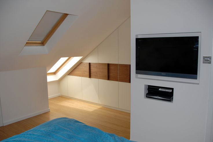 7 best images about storage for awkward spaces on for Eaves bedroom ideas