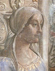 Bianca Maria de 'Medici (1445-1488) Daughter of Piero di Cosimo de Medici and Lucrezia Tornabuoni. Wife to William de Pazzi (m. 1459). They had 16 children