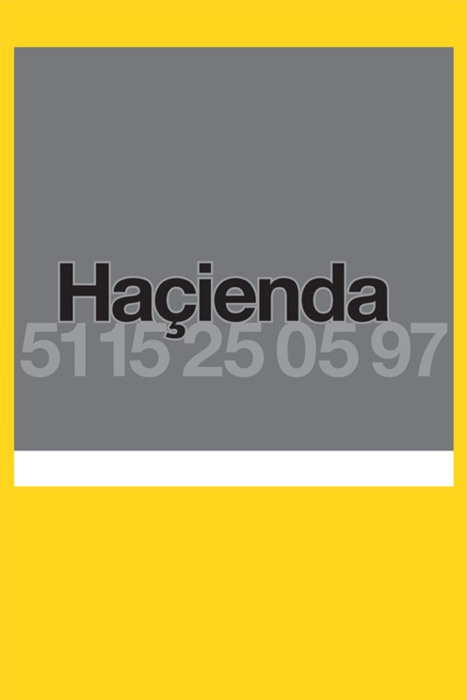 """Hacienda Poster by Farrow.Screenprinted PMS 810, black, cool grey 9 and reflective ink on Campaign mg poster paper 120 gsm. Farrow explains, """"We had no idea at the time that it would be the club's last. The code (fac 51 is 15 on 25 05 97) was printed in a reflective ink onto a grey background which rendered it almost invisible in daylight. The poster only came to life at night under the glare of car headlights. Reason being that the message was only important to people who were out after…"""