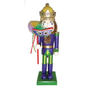 Mardi Gras King Nutcracker